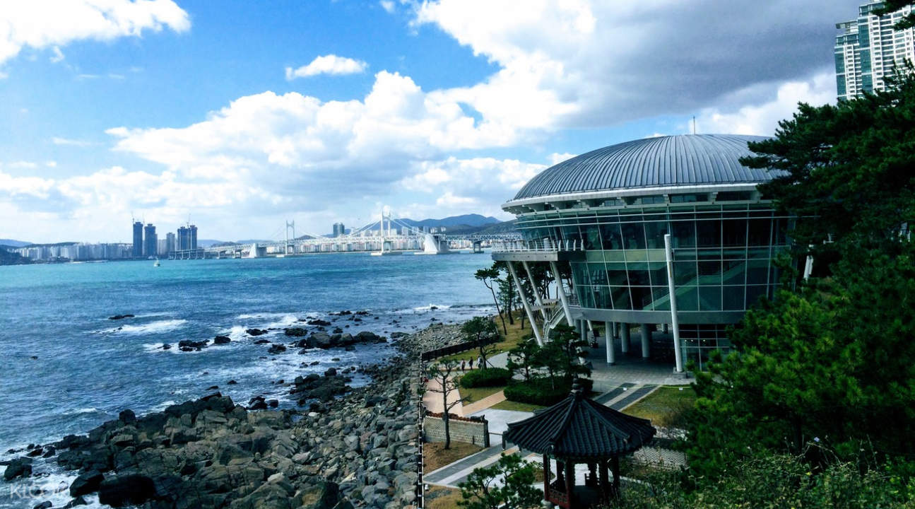 the APEC House in Busan